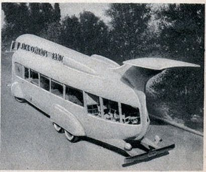 Movie bus, 1935. from modernmechanix.com