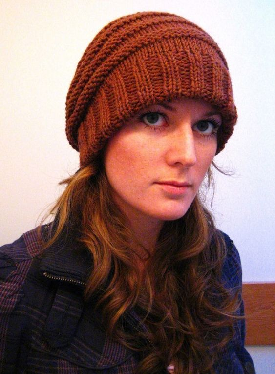 AESDERINA // hat horizontal rib double brim toque by janerichmond, $4.50