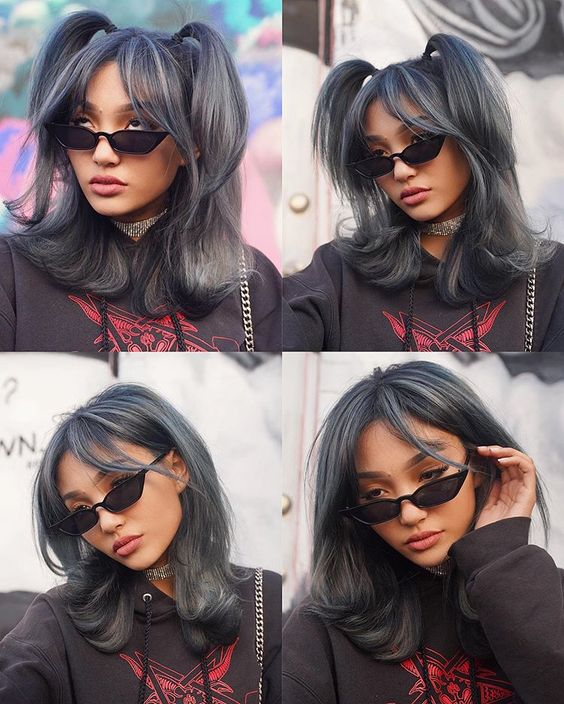 bescene gray hair look @kaylabud - hairstyles to try in 2020 | soyvirgo.com