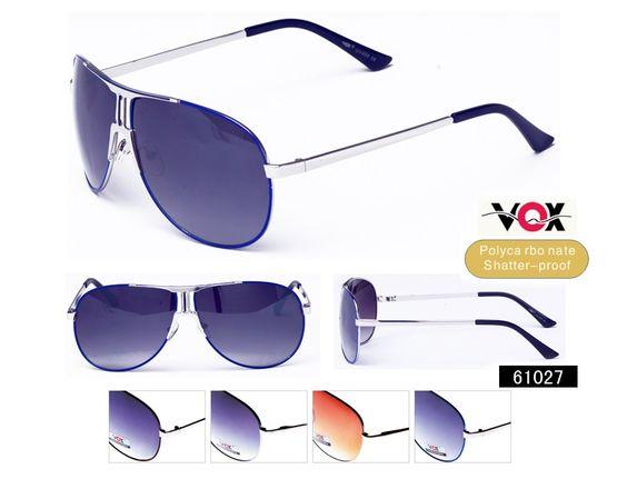 Description: VOX Fashion Sunglasses  Frame: Assorted  Lens: Assorted Poly Carbonate