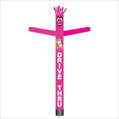 Inflatable Air Wacky Dancer Dunkin Donuts Drive Thru Franchise Tube Man 18 Ft All Feather Flags Dunkin Donuts Inflatable Dunkin