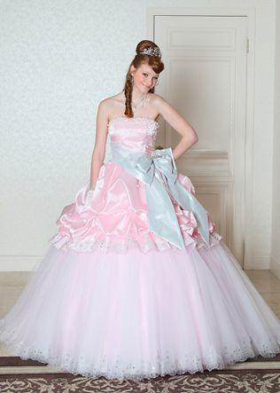 Brautkleid Hochzeitskleid Schleifen Rüschen Spitzen