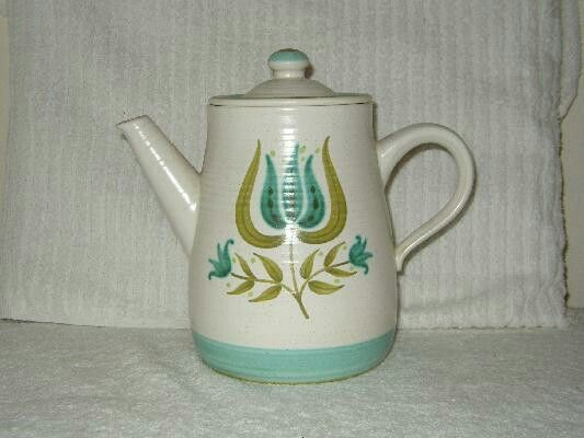 Tulip Time Coffee Pot