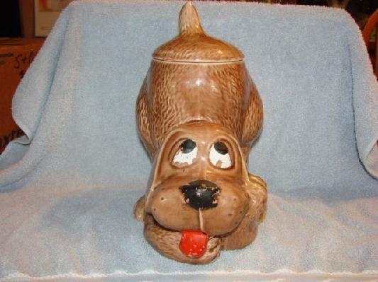 Antique Dog Cookie Jar By Mccoy Dog Stuff Pinterest