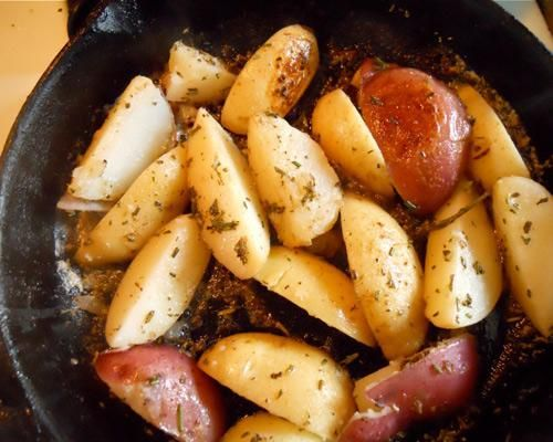 Lavender and Rosemary Potatoes: The tiny buds and sprigs turn a ho-hum vegetable into an aromatic masterpiece.
