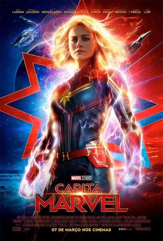 [Filme] Capitã Marvel | Blog Aquela Geek #superherois #marvel #mcu #capitamarvel #superhero #aquelageek #geek #herois #filme