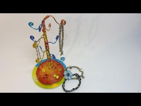 Tutorial: Porta accesorios (pulseras, anillos)