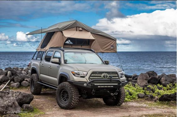 Overland Bed Rack Truck Canopy Camping Tacoma Truck Toyota Tacoma
