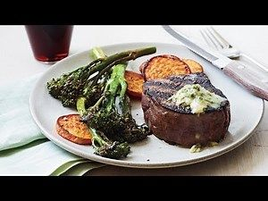 How to Make Pan-Seared Steak with Chive-Horseradish Butter ...