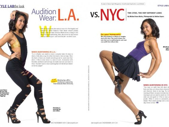 How can you find where auditions happen (in LA or NY) ?