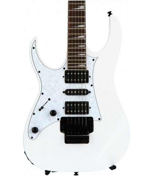 White Left Handed Ibanez Rg450dxb Solidbody Electric Guitar Left Handed With Mahogany Body Guitar Ibanez Left Handed