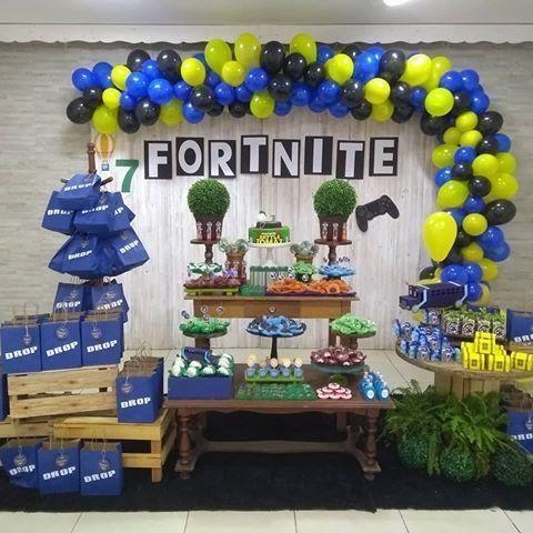 Las Mejores Ideas Para Una Fiesta De Fortnite En 2019