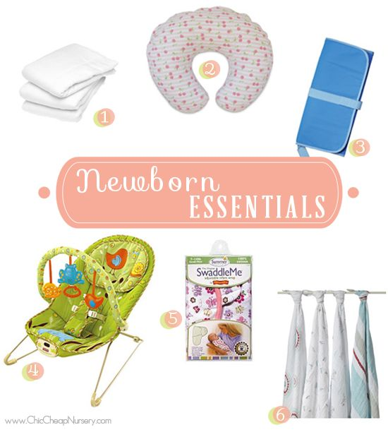 Newborn Baby Registry Essentials - Must Haves for New Moms New - baby registry checklists