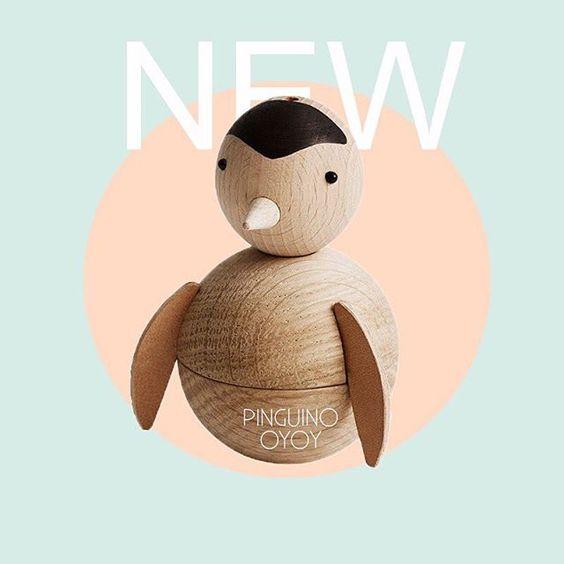 ✨NOVEDAD✨ Este pingüino tan adorable ha llegado a nuestra shop ❤ Se convertirá en el mejor juguete para tu peque ¿qué te parece?