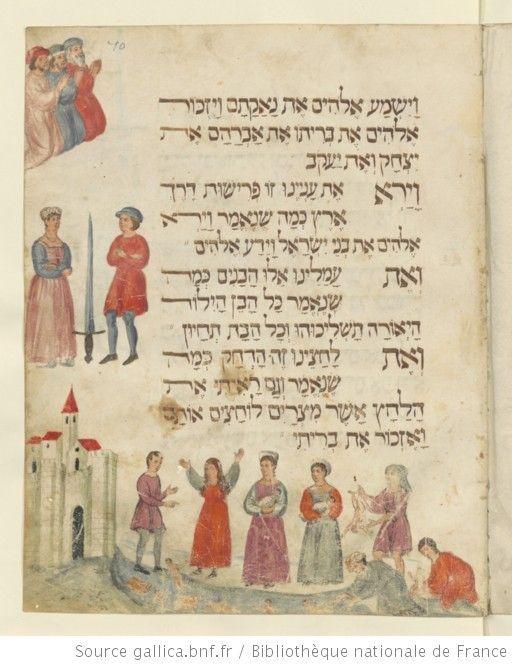 Haggadah De Paque Hebreu Gallica Bibliotheque Nationale De France Lettre Hebraique Biblique