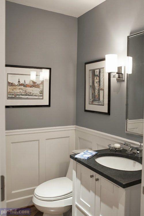 صور ديكورات حمامات مودرن افكار واشكال حمامات صغيرة وكبيرة Tiny Powder Rooms Tiny Bathrooms Small Bathroom Remodel