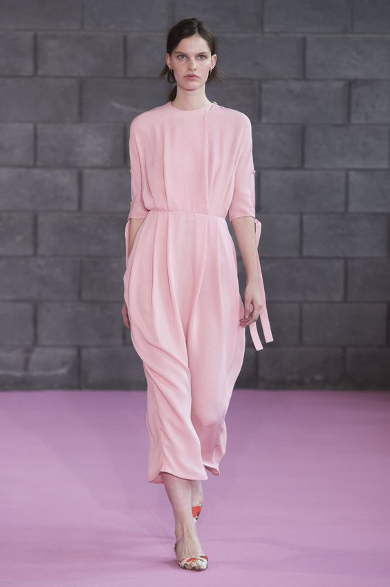 The latest looks from Emilia Wickstead's spring show.