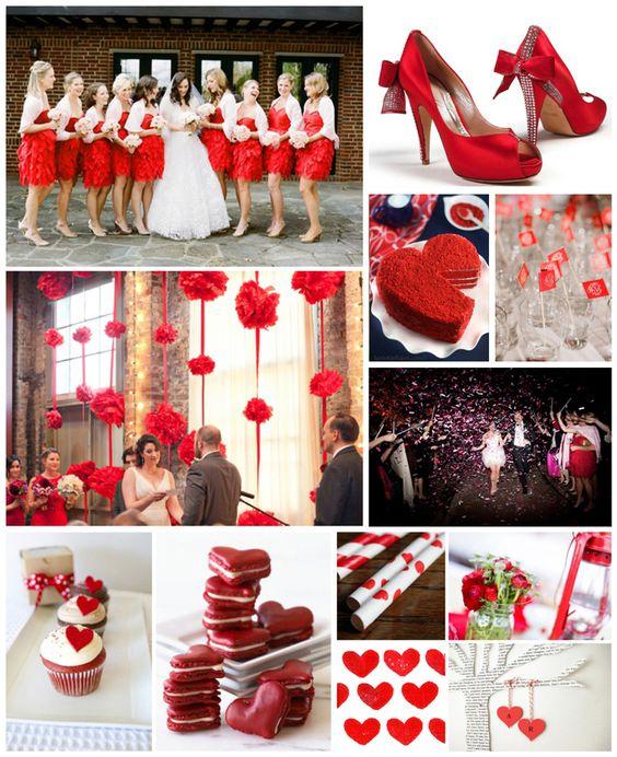 Red & White Wedding (http://www.mywvwedding.com/Planners-Palette/December-2012/Red-White/) @WV Weddings Magazine