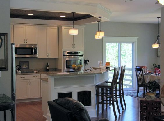 open kitchen living dining   Picture: Open Kitchen and Dining Area provided by KJ Construction and ...