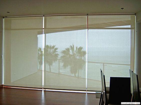 Roller blinds decorartehogar 10 cortinas roller zebra - Estores exteriores enrollables ...