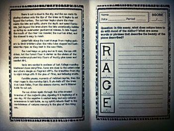 racer writing activity