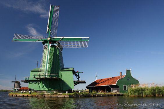 Windmill at Zaanstad