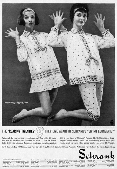 1958 Schrank Pajamas