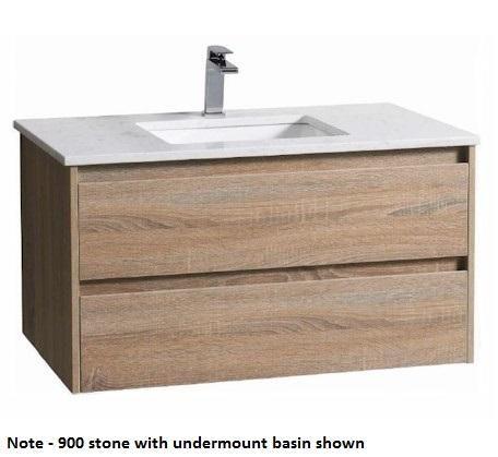 Aria Wall Hung 600mm Vanity Wood Grain Wall Hung Bathroom Vanities Wall Hung Vanity Timber Vanity
