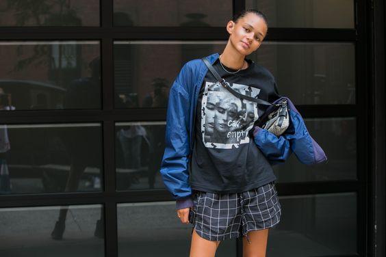Street style: cool é palavra de ordem na NYFW de verão 2016, por Adriano Cisani - Vogue | Streetstyle