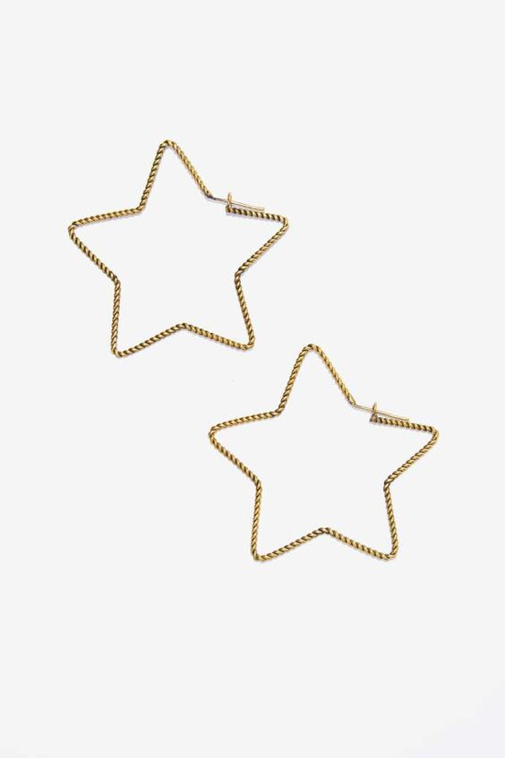 Lena Bernard Stellar Star Earrings | Shop Accessories at Nasty Gal!