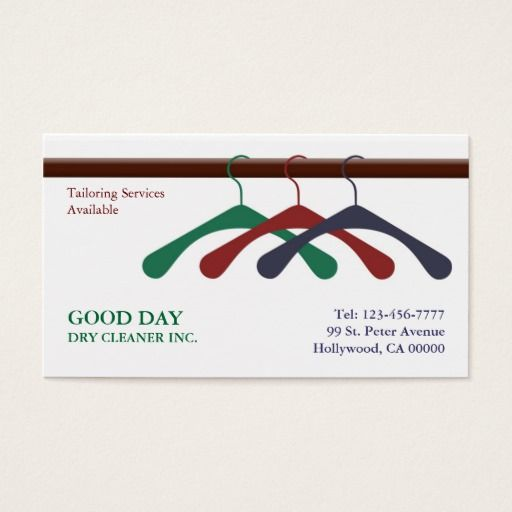 Dry Cleaner Laundry Business Card Zazzle Com In 2021 Laundry Business Cleaning Business Cards Business Cards