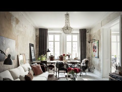 Charming Scandinavian Apartment With Vintage Touch Goteborg Interior Design Youtube In 2020 Scandinavian Apartment Interior Design Interior