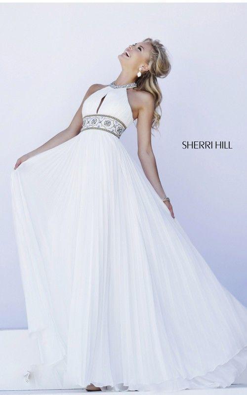 2015 White Sexy Sherri Hill Dress 11251 For Prom