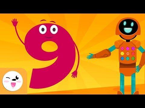 Docentesinformatizadosenred El Número 9 Aprende A Contar Los Números Del 1 Learn To Count Number 9 9 Songs