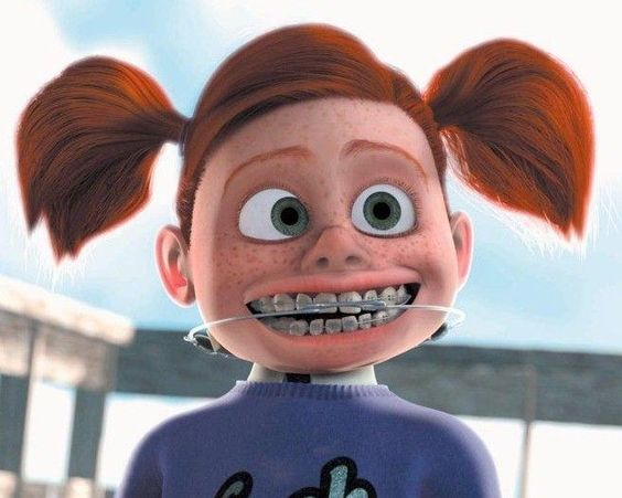 Finding nemo, Darla from finding nemo and Braces on Pinterest