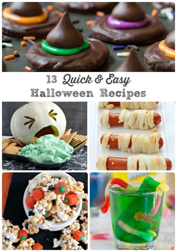 halloween recipes quick easy