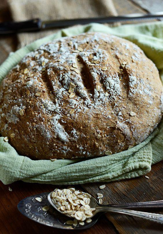 7 Ingredient Homemade Wheat Bread | minimalistbaker.com
