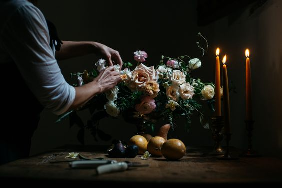 La Musa de las Flores by Ana Laframboise