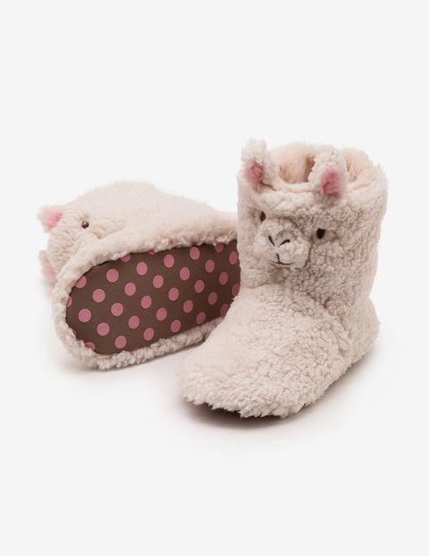 Llama Slipper Boots   Kids slippers