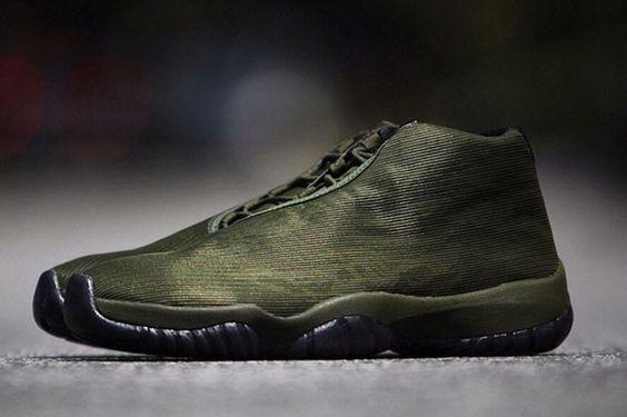 #AirJordan Future Olive Camo #sneakers