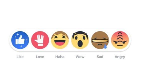 Facebook cambia los iconos de reacciones por el aniversario de Star Trek