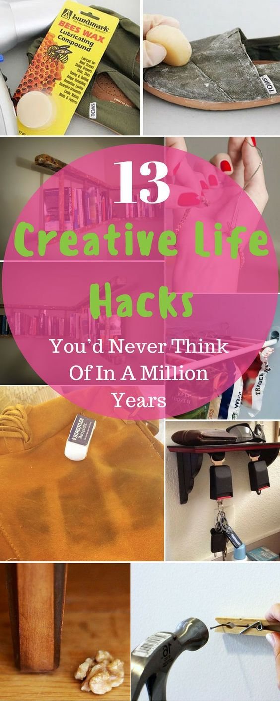 13 Creative Life Hacks You D Never Think Of In A Million Years Diy Crafts Life Hacks Life Hacks Computer Life Hacks