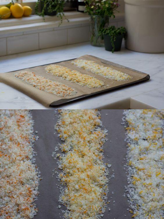 Citrus salt via 101 Cookbooks #salt #ediblegifts #citrus