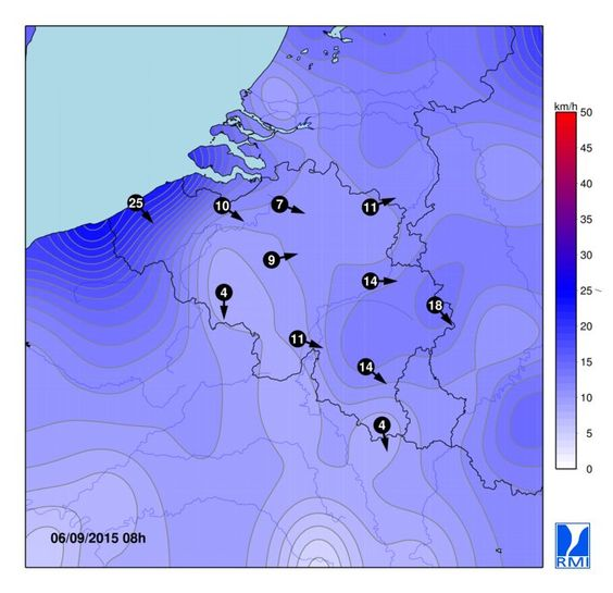 Météo en Belgique: nos prévisions - IRM