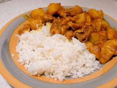 Carmen's Kitchen: Coconut Chicken Curry Recipe: Can't Handle Spicy Food? No Problem!
