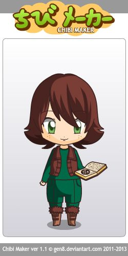 Chibi Hiccup. Made by Astrid Hofferson. I look awesome, Milady. ;-)