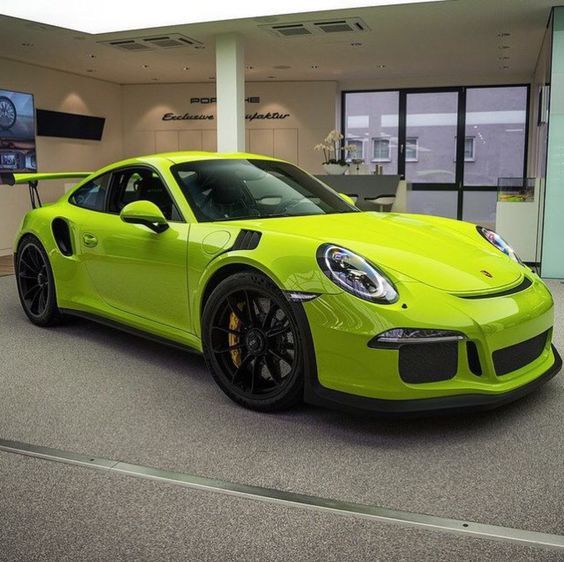 Porsche 991 GT3 RS painted in paint to sample Birch Green Photo taken by: @ddwcarsinaz on Instagram