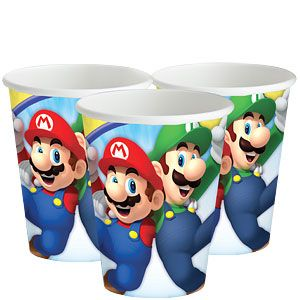 Super Mario - Pappbecher 266ml