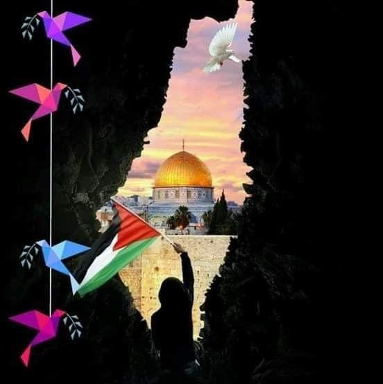 صباح القدس عاصمة فلسطين الأبدية Eiffel Tower Tower Eiffel