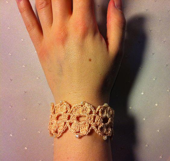 Gehäkeltes Armband Nr. 8